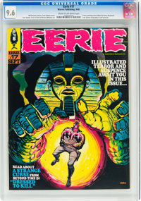 Eerie #17 (Warren, 1968) CGC NM+ 9.6 Cream to off-white pages