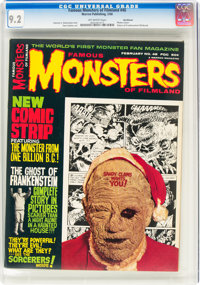 Famous Monsters of Filmland #48 Northland Pedigree (Warren, 1968) CGC NM- 9.2 Off-white pages