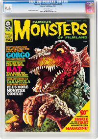 Famous Monsters of Filmland #50 (Warren, 1968) CGC NM+ 9.6 Off-white pages