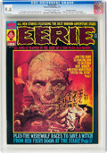 Magazines:Horror, Eerie #53 Don Rosa Collection (Warren, 1974) CGC NM 9.4 Off-white to white pages....