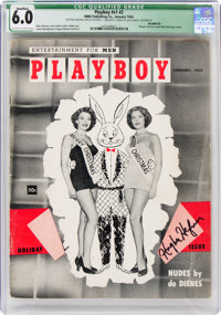 Playboy #2 Incomplete (HMH Publishing, 1954) CGC Qualified FN 6.0 Off-white to white pages