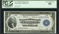 Fr. 738 $1 1918 Federal Reserve Bank Note PCGS Very Choice New 64