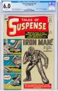 Silver Age (1956-1969):Superhero, Tales of Suspense #39 (Marvel, 1963) CGC FN 6.0 White pages....