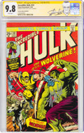 Modern Age (1980-Present):Superhero, The Incredible Hulk #181 German Reprint - Signature Series - Stan Lee (Panini Deutschland, 1999) CGC NM/MT 9.8 White pages....