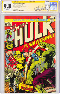 The Incredible Hulk #181 German Reprint - Signature Series - Stan Lee (Marvel, 1999) CGC NM/MT 9.8 White pages