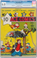 Platinum Age (1897-1937):Miscellaneous, Ace Comics #1 (David McKay Publications, 1937) CGC FN 6.0 Cream to off-white pages....