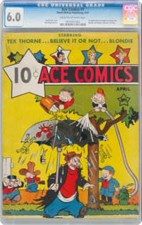 Ace Comics #1 (David McKay Publications, 1937) CGC FN 6.0 Cream to off-white pages
