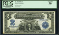 Large Size:Silver Certificates, Fr. 255 $2 1899 Silver Certificate PCGS Very Fine 30.. ...