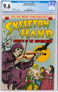 Golden Age (1938-1955):Horror, Skeleton Hand #1 (ACG, 1952) CGC NM+ 9.6 Cream to off-white pages....