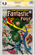 Silver Age (1956-1969):Superhero, Fantastic Four #83 Signature Series - Stan Lee (Marvel, 1969) CGC NM/MT 9.8 Off-white pages....