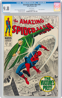 The Amazing Spider-Man #64 (Marvel, 1968) CGC NM/MT 9.8 White pages