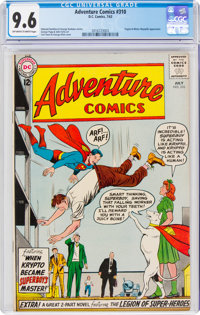 Adventure Comics #310 (DC, 1963) CGC NM+ 9.6 Off-white to white pages