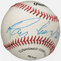 Autographs:Baseballs, Roy Campanella Single Signed Baseball....