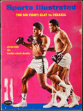 Autographs:Others, Muhammad Ali Signed 1967 Sports Illustrated. Offe...