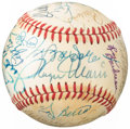 Autographs:Baseballs, Greats & Hall of Famers Multi-Signed Baseball (25 Signatures)....
