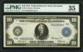 Large Size:Federal Reserve Notes, Fr. 916 $10 1914 Federal Reserve Note PMG Choice Very Fine 35.. ...