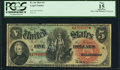 Large Size:Legal Tender Notes, Fr. 64 $5 1869 Legal Tender PCGS Apparent Fine 15.. ...