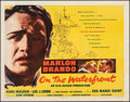 """Movie Posters:Academy Award Winners, On the Waterfront (Columbia, 1954). Fine/Very Fine on Paper. Half Sheet (22"""" X 28"""") & Uncut Pressbook (8 Pages, 12"""" X 16"""") S... (Total: 2 Items)"""