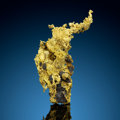 Minerals:Golds, Crystallized Gold with Pyrite. Alleghany Mining District (Forest Mining District). Sierra Co.. California, USA. ...