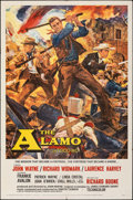 "Movie Posters:Western, The Alamo (United Artists, 1960). Folded, Very Fine-. Todd-AO One Sheet (27"" X 41""). Reynold Brown Artwork. Western.. ..."