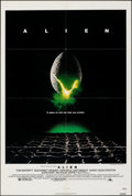 "Movie Posters:Science Fiction, Alien (20th Century Fox, 1979). Folded, Very Fine-. One Sheet (27"" X 41""). Science Fiction.. ..."
