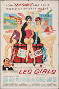 "Movie Posters:Musical, Les Girls (MGM, 1957). Folded, Fine+. One Sheet (27"" X 41"") John Fernie Artwork. Musical.. ..."