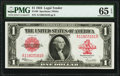 Large Size:Legal Tender Notes, Fr. 40 $1 1923 Legal Tender PMG Gem Uncirculated 65 EPQ.. ...