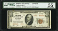 National Bank Notes:New Jersey, Pitman, NJ - $10 1929 Ty. 2 Pitman National Bank & Trust Company Ch. # 8500 PMG About Uncirculated 55.. ...