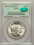 1936 50C Gettysburg MS63 PCGS. CAC. PCGS Population: (766/5085). NGC Census: (274/3086). CDN: $440 Whsle. Bid for NGC/PC...