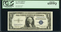 Small Size:Silver Certificates, Fr. 1618 $1 1935H Silver Certificate. PCGS Gem New 65PPQ.. ...