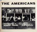 Books:Art & Architecture, [Photography]. Robert Frank. The Americans. Introduction by Jack Kerouac. New York: Grove Press, Inc., 1959. First A...