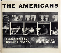 [Photography]. Robert Frank. The Americans. Introduction by Jack Kerouac. New York: Grove Press, Inc., 1959. First A
