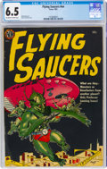 Golden Age (1938-1955):Science Fiction, Flying Saucers #nn (Avon, 1952) CGC FN+ 6.5 Off-white to white pages....