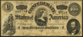 Confederate Notes:1864 Issues, T65 $100 1864 PF-2 Cr. 493 About Uncirculated.. ...