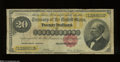 Large Size:Gold Certificates, Fr. 1178 $20 1882 Gold Certificate Very Good....