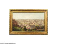 WILLIAM KEITH (American 1838-1911) Grand Canyon Oil on canvas 12in. x 20in. (sight size) William Keith was a leading Nor...