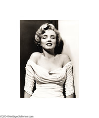 PHILIPPE HALSMAN (1906-1979) Portrait of Marilyn Monroe, 1952 Edition: 178/250 Has stamp of the Halsman studio, 1981 &am...
