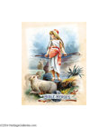 Original Illustration Art:Mainstream Illustration, American Illustrator - Original Paperback Cover Art (c.1890-1910)..The Bible Heroes published by McLoughlin Brothers, N...(Total: 2 items Item)