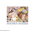 Original Illustration Art:Mainstream Illustration, Maurice Bernard Sendak - Original Signed Print (1990).. Print onpaper, approximately 16 x 20. Signed lower right..