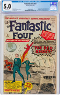 Silver Age (1956-1969):Superhero, Fantastic Four #13 (Marvel, 1963) CGC VG/FN 5.0 Off-white pages....
