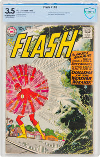 The Flash #110 (DC, 1959) CBCS VG- 3.5 Off-white to white pages