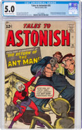 Silver Age (1956-1969):Superhero, Tales to Astonish #35 (Marvel, 1962) CGC VG/FN 5.0 Off-white to white pages....