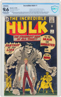 The Incredible Hulk #1 (Marvel, 1962) CBCS Restored NM+ 9.6 Extensive (P) Off-white to white pages