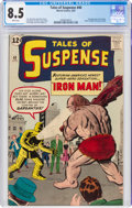 Silver Age (1956-1969):Superhero, Tales of Suspense #40 (Marvel, 1963) CGC VF+ 8.5 White pages....