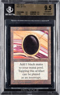 Memorabilia:Trading Cards, Magic: The Gathering Beta Edition Mox Jet BGS 9.5 (Wizards of the Coast, 1993)....