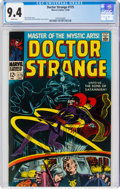 Silver Age (1956-1969):Superhero, Doctor Strange #175 (Marvel, 1968) CGC NM 9.4 White pages....