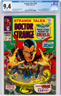 Silver Age (1956-1969):Horror, Strange Tales #156 (Marvel, 1967) CGC NM 9.4 White pages....