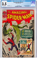 Silver Age (1956-1969):Superhero, The Amazing Spider-Man #2 (Marvel, 1963) CGC VG- 3.5 Off-white pages....