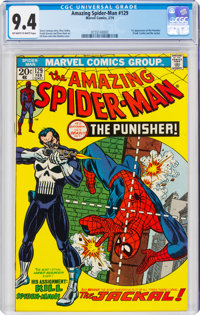The Amazing Spider-Man #129 (Marvel, 1974) CGC NM 9.4 Off-white to white pages