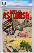 Silver Age (1956-1969):Superhero, Tales to Astonish #41 (Marvel, 1963) CGC VF- 7.5 White pages....